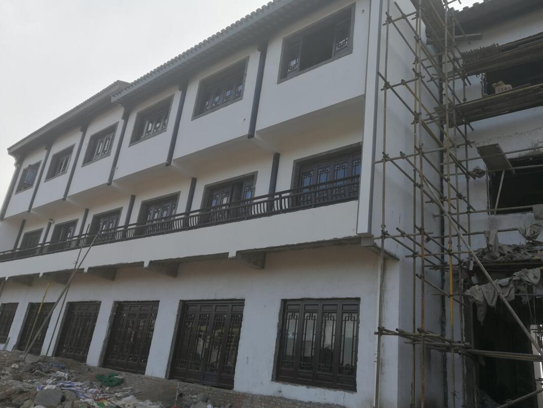 YT保温材料安徽砀山古城项目
