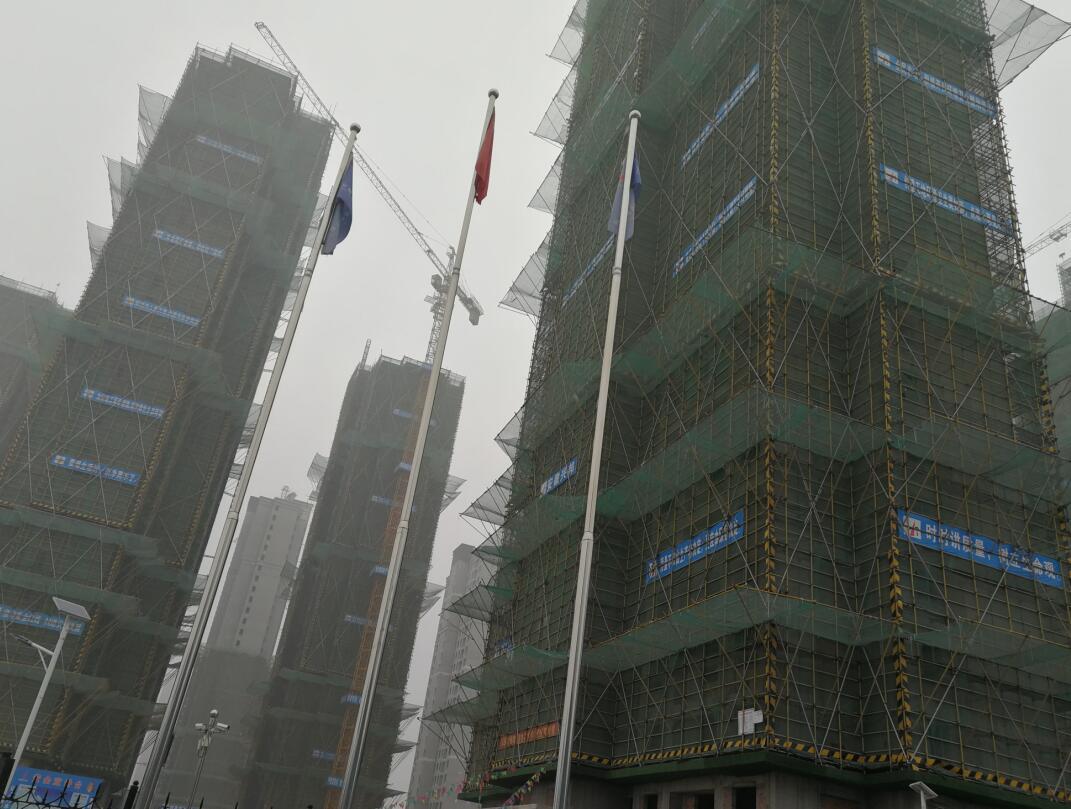 南阳银通YT保温材料安徽肥西四十埠安置房项目